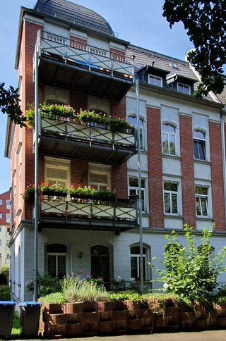Mehrpateien Haus in Plauen Innenstadt